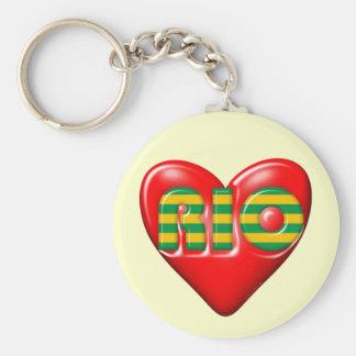 I Love Rio De Janeiro Key Chains
