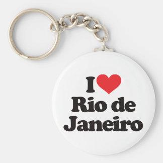 I Love Rio de Janeiro Keychain