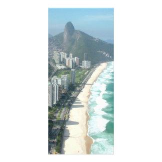 I Love Rio de Janeiro Custom Rack Card