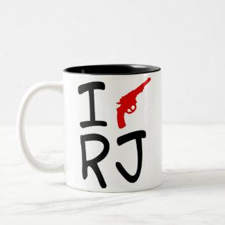 I love RIO DE JANEIRO Two-Tone Coffee Mug