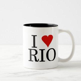 I LOVE RIO Mug black