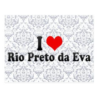 I Love Rio Preto da Eva, Brazil Postcard