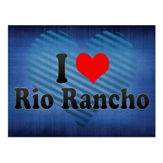 I Love Rio Rancho, United States Postcard