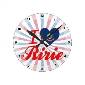 I Love Ririe, Idaho Clocks