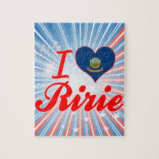 I Love Ririe, Idaho Jigsaw Puzzles