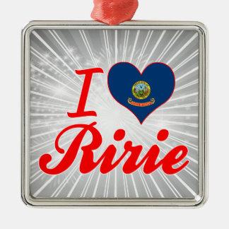 I Love Ririe, Idaho Ornament