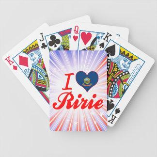 I Love Ririe, Idaho Playing Cards