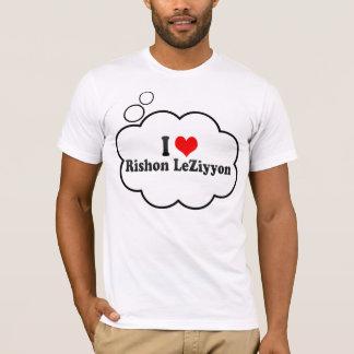 I Love Rishon LeZiyyon, Israel T-Shirt
