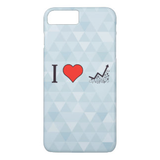 I Love Rising Literacy Rate iPhone 7 Plus Case