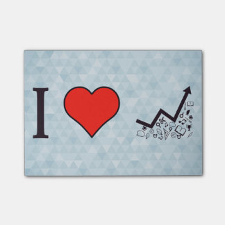 I Love Rising Literacy Rate Post-it® Notes