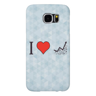 I Love Rising Literacy Rate Samsung Galaxy S6 Case