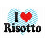 I Love Risotto Postcard