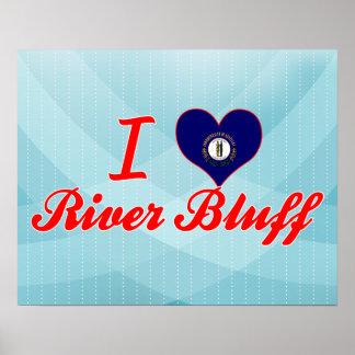 I Love River Bluff, Kentucky Print