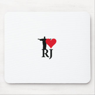 I Love River of Janerio Brazil Series Mouse Pad