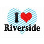 I Love Riverside Post Cards