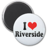 I Love Riverside Refrigerator Magnets