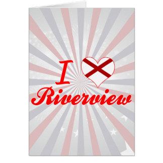 I Love Riverview, Alabama Greeting Card