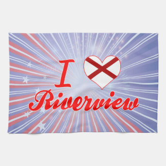 I Love Riverview, Alabama Kitchen Towels