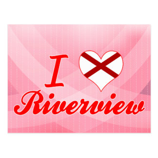 I Love Riverview, Alabama Postcards