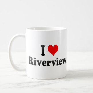 I Love Riverview, United States Coffee Mugs