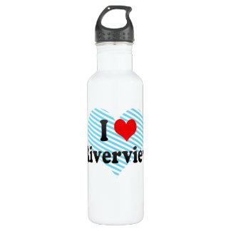 I Love Riverview, United States 24oz Water Bottle