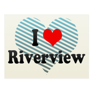 I Love Riverview, United States Postcards