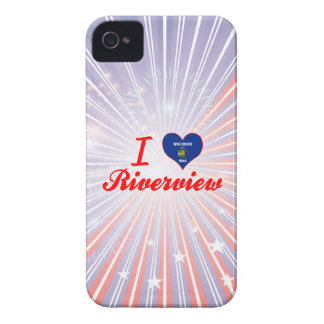I Love Riverview, Wisconsin Case-Mate iPhone 4 Case