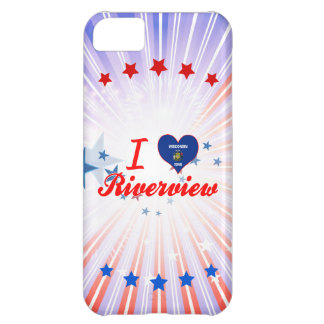 I Love Riverview, Wisconsin Cover For iPhone 5C