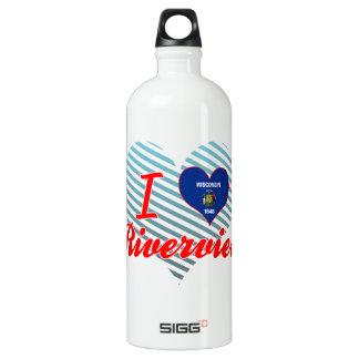 I Love Riverview, Wisconsin SIGG Traveler 1.0L Water Bottle