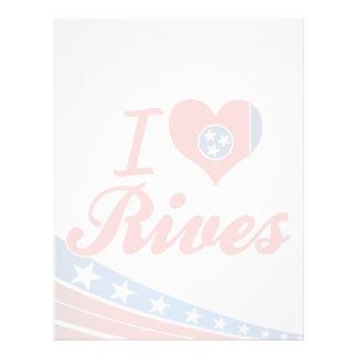 I Love Rives, Tennessee Letterhead Template