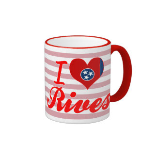 I Love Rives, Tennessee Coffee Mug
