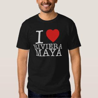 I Love Riviera Maya Remera