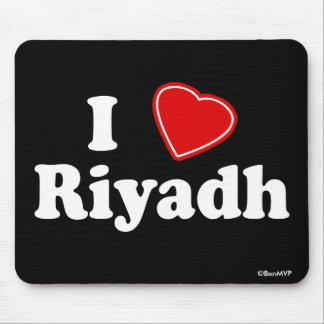 I Love Riyadh Mouse Pad