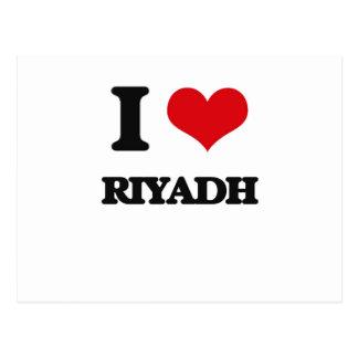 I love Riyadh Postcard
