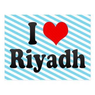 I Love Riyadh, Saudi Arabia Postcard