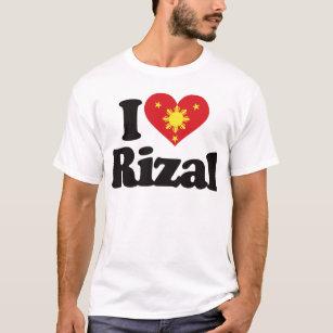 I heart rizal gifts on zazzle i love rizal t shirt stopboris Choice Image