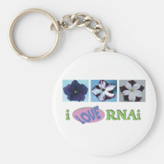 I love RNAi set Keychain