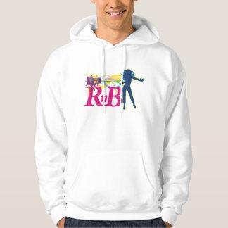 I love RnB Hooded Sweatshirt