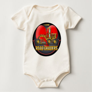 I Love Road Graders Infant Creeper