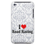 I love Road Racing Barely There iPod Cases