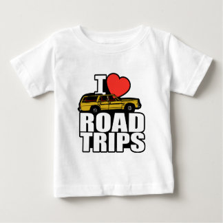 I Love Road Trips Baby T-Shirt