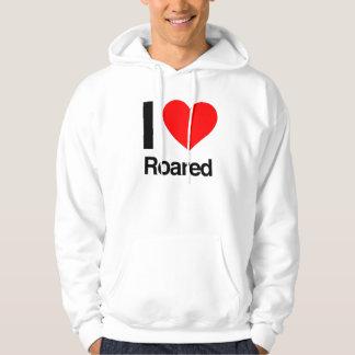 i love roared sweatshirt