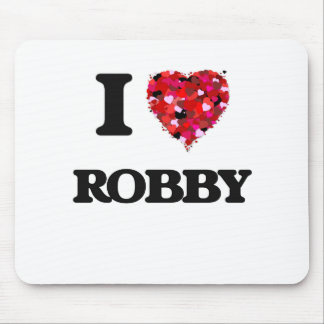 I Love Robby Mouse Pad
