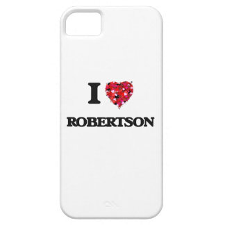 I Love Robertson iPhone 5 Covers