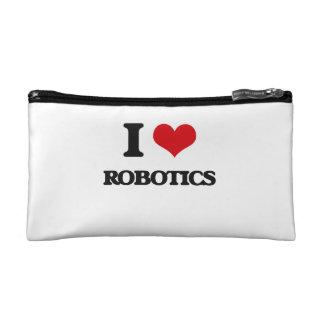 I Love Robotics Makeup Bags
