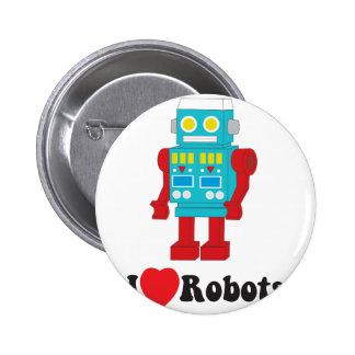I Love Robots! Pins