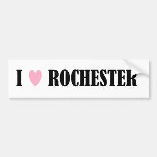 I LOVE ROCHESTER BUMPER STICKER