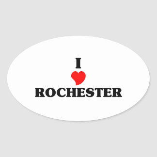 I love Rochester Hills Oval Sticker