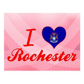 I Love Rochester, Michigan Postcard