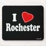 I Love Rochester Mouse Pads